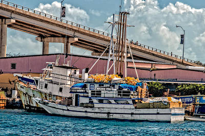Photograph - Nassau Fishing Boats by Christopher Holmes