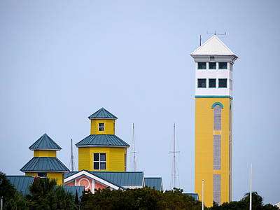 Photograph - Nassau - Harbour Control Tower  by Richard Reeve