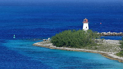 Photograph - Nassau Lighthouse 1 by Coby Cooper