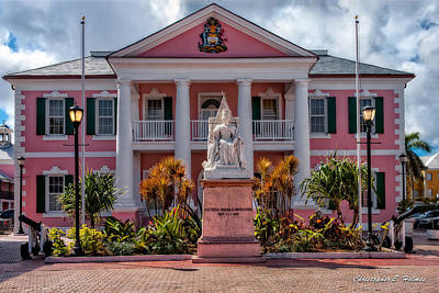 Nassau Senate Building Art Print by Christopher Holmes
