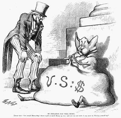 Nast: Inflation, 1873 Art Print by Granger