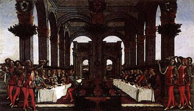 Digital Art - Nastagio Fourth  by Sandro Botticelli