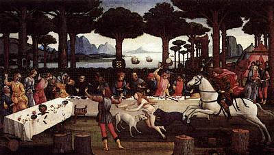 Digital Art - Nastagio Third  by Sandro Botticelli