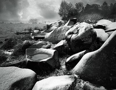 Photograph - Nasty Weather by Vladimir Kholostykh