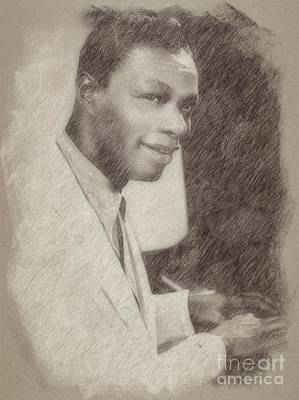 Advertising Archives - Nat King Cole, Singer by Esoterica Art Agency