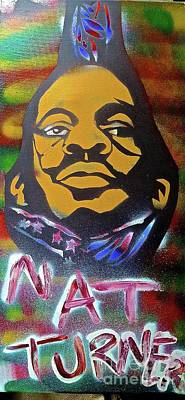 Liberal Painting - Nat Turner Hanging by Tony B Conscious