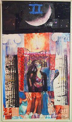 Xerox Digital Art - Natacha Tarot by Jeffrey Birr