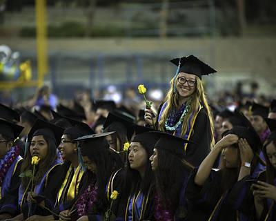 Photograph - Natalia's Grad Photo by John King
