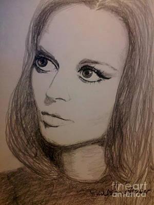 Natasha Drawing - Natalie, Oh by N Willson-Strader
