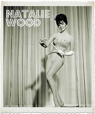 Singer Digital Art - Natalie Wood by John Springfield