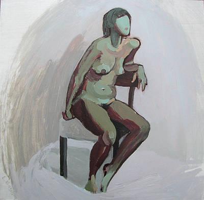 Painting - Nataly by Lena Krasotina