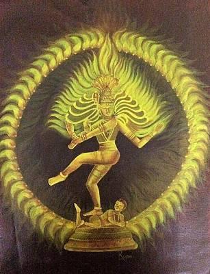 Nataraja Original by Rupa Prakash