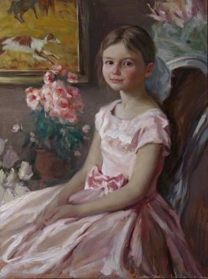 Painting - Natasha by Korobkin Anatoly