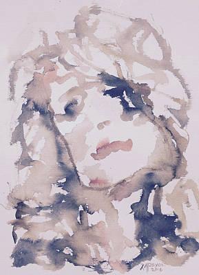 Painting - Natashia IIi by Khalid Alzayani