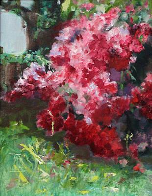 Natchez Painting - Natchez Azaleas by Sandy Lane