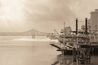 Photograph - Natchez On The Mississippi by Scott Rackers