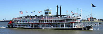 Photograph - Natchez Paddlewheeler by Randall Weidner
