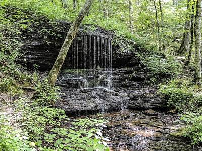 Natchez Trace Waterfall Art Print