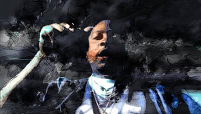 Nate Dogg 4329000 Art Print