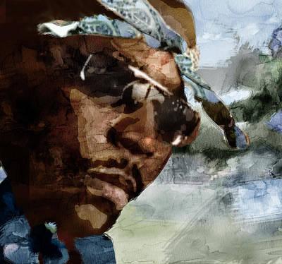 Evansville Painting - Nate Dogg 5432345596 by Jani Heinonen