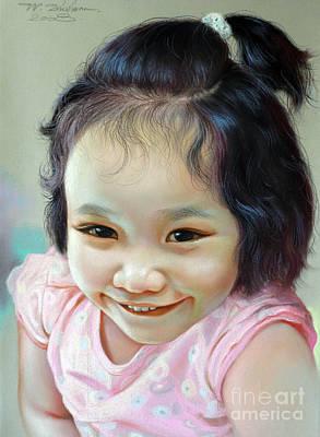 Painting - Nathakamon Phanwichien by Chonkhet Phanwichien