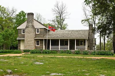 Nathan Bedford Forrest Boyhood Home 3 Print by Douglas Barnett