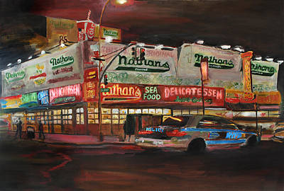 Nathan's Art Print by Wayne Pearce