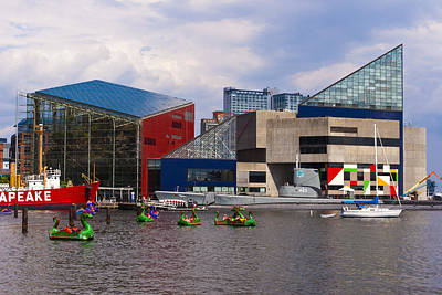 Photograph - National Aquarium - Baltimore by Lou Ford
