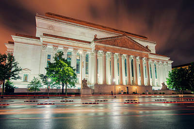 Photograph - National Archives Building by Ray Devlin