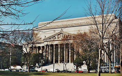 Photograph - National Archives by D Hackett