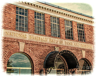 Photograph - National Baseball Hall Of Fame And Museum by John Freidenberg