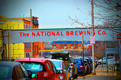National Brewing Company Print by Jost Houk