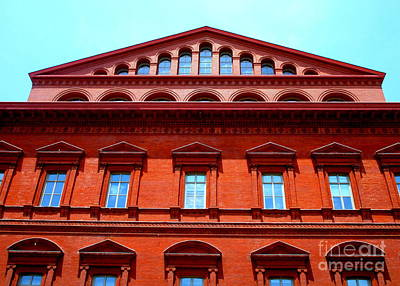National Building Museum Photograph - National Building Museum 1 by Randall Weidner