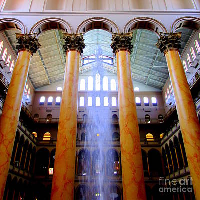 Photograph - National Building Museum 3 by Randall Weidner