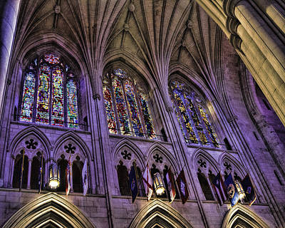 Washington D.c Digital Art - National Cathedral II by Rebecca Snyder