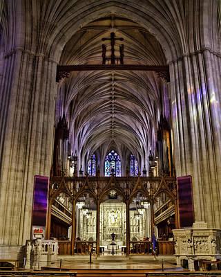 Washington D.c Digital Art - National Cathedral by Rebecca Snyder