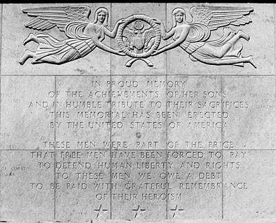 Photograph - National Cemetery Of The Pacific Dedication by Nadalyn Larsen