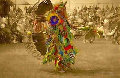 Photograph - National Championship Pow Wow - Grand Prairie, Tx by Dyle Warren