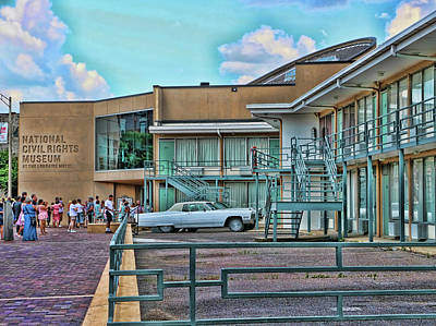 Photograph - National Civil Rights Museum by Allen Beatty