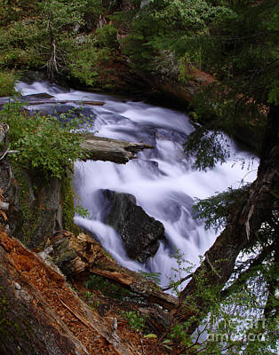 Photograph - National Creek Falls 03 by Peter Piatt