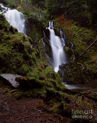 Photograph - National Creek Falls 04 by Peter Piatt