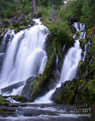 Photograph - National Creek Falls 09 by Peter Piatt