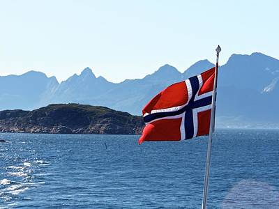 National Day Of Norway In May Art Print