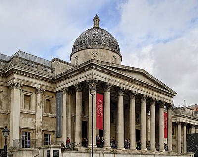 Photograph - National Gallery London by Shirley Mitchell