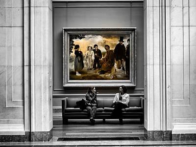 National Gallery Of Art Interiour 3 Original by Frank Verreyken