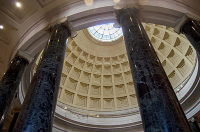 Government Photograph - National Gallery Of Art Rotunda by Greg Mimbs