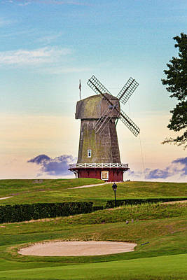 Photograph - National Golf Links Of America Windmill by Robert Seifert