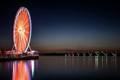 Photograph - National Harbor by Ryan Wyckoff