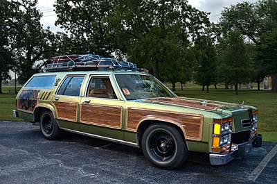 Photograph - National Lampoons Vacation Truckster Replica by Tim McCullough