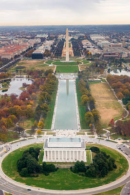 Photograph - National Mall by SR Green
